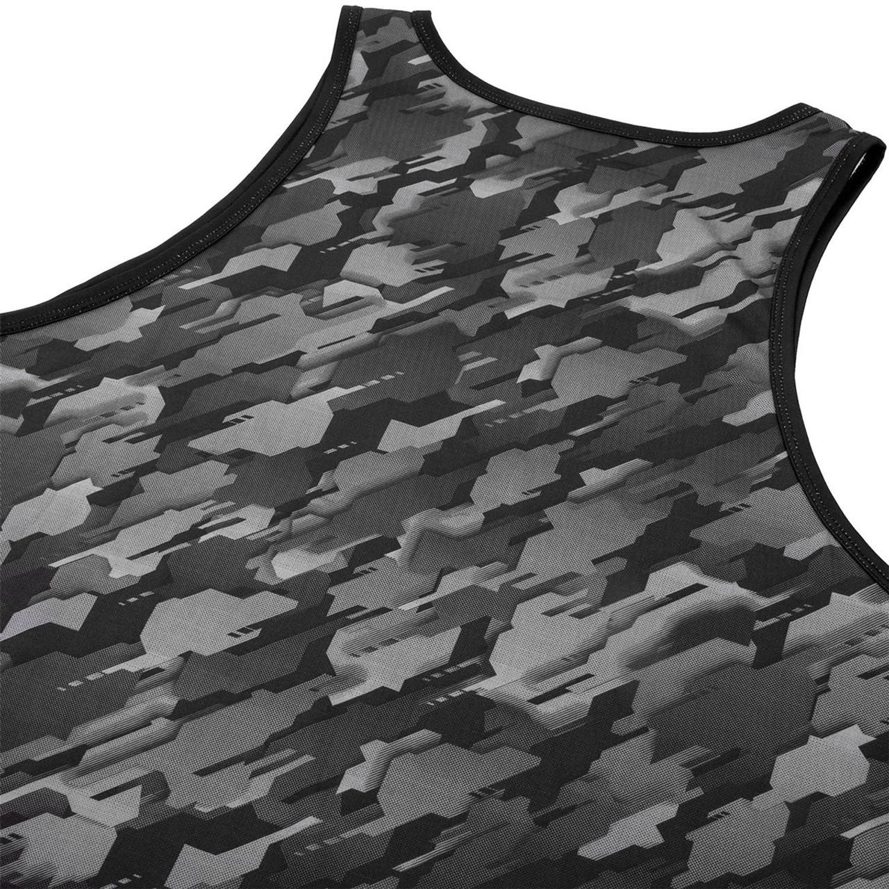 Dark Gray Venum Tecmo Dry Tech MMA Tank Top