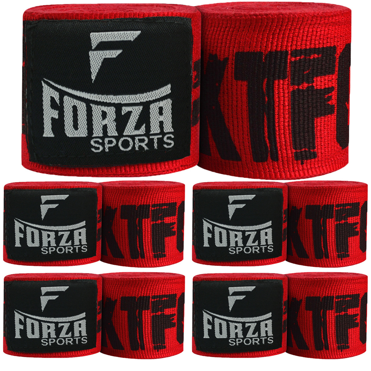"Hot Pink Forza Sports 180/"" Mexican Style Boxing and MMA Handwraps"
