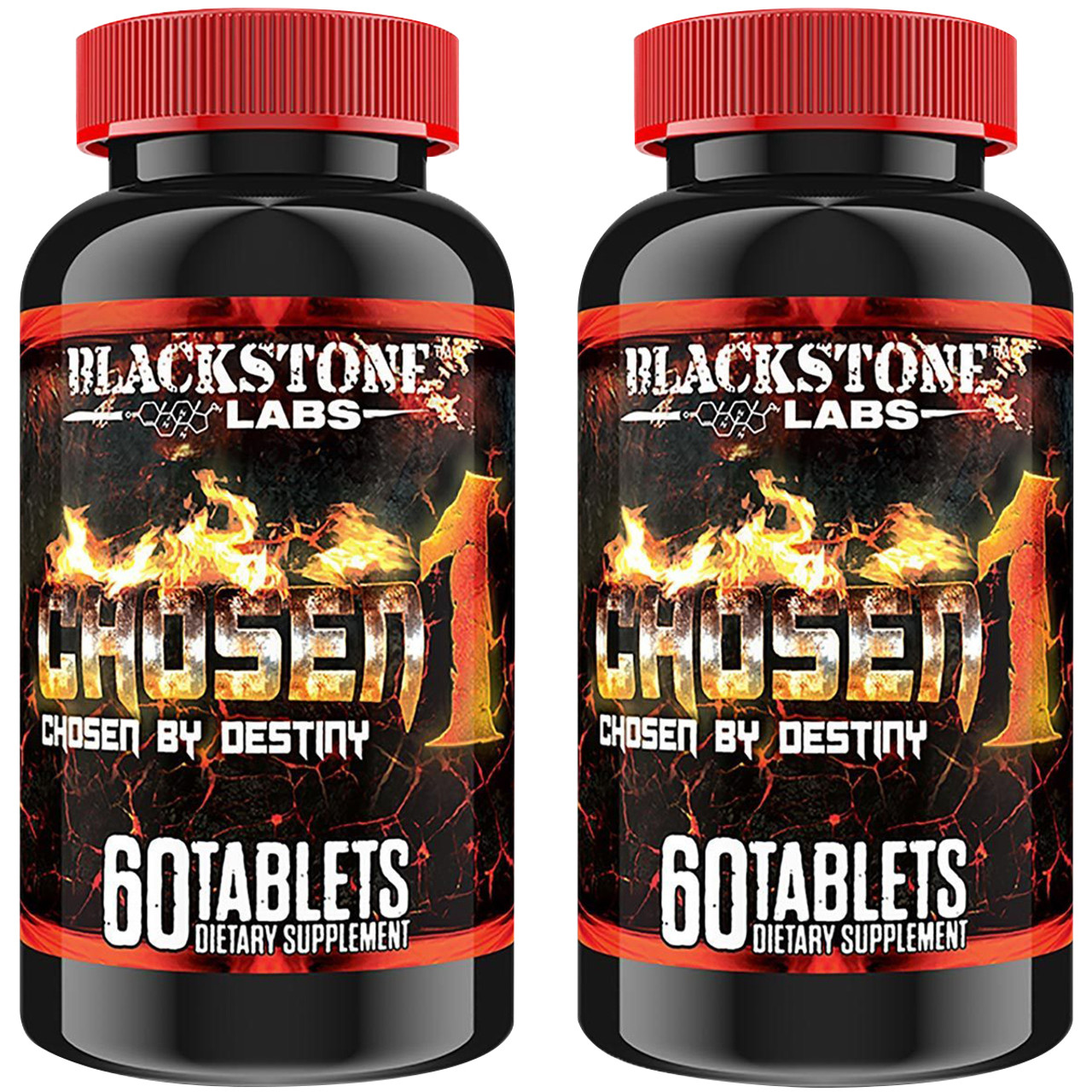 Blackstone Labs Chosen1 Muscle-Building Dietary Supplement - 2 Pack