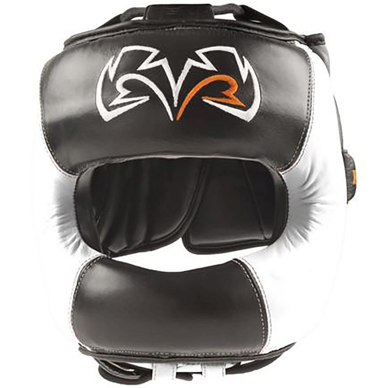 Black//Gray Rival Boxing Face Guard Headgear