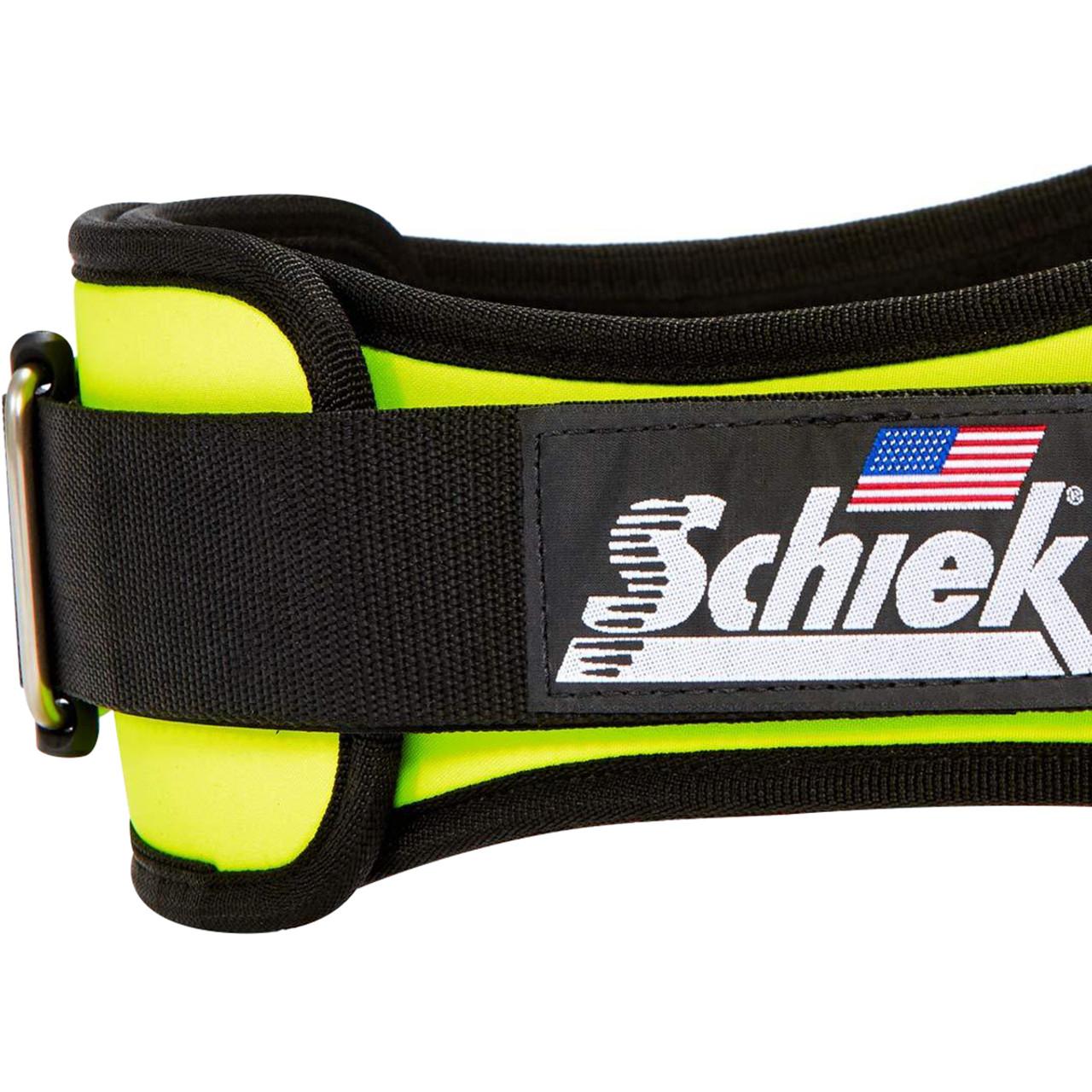 "Schiek Sports Model 2004 Nylon 4 3//4/"" Weight Lifting Belt Royal Blue"