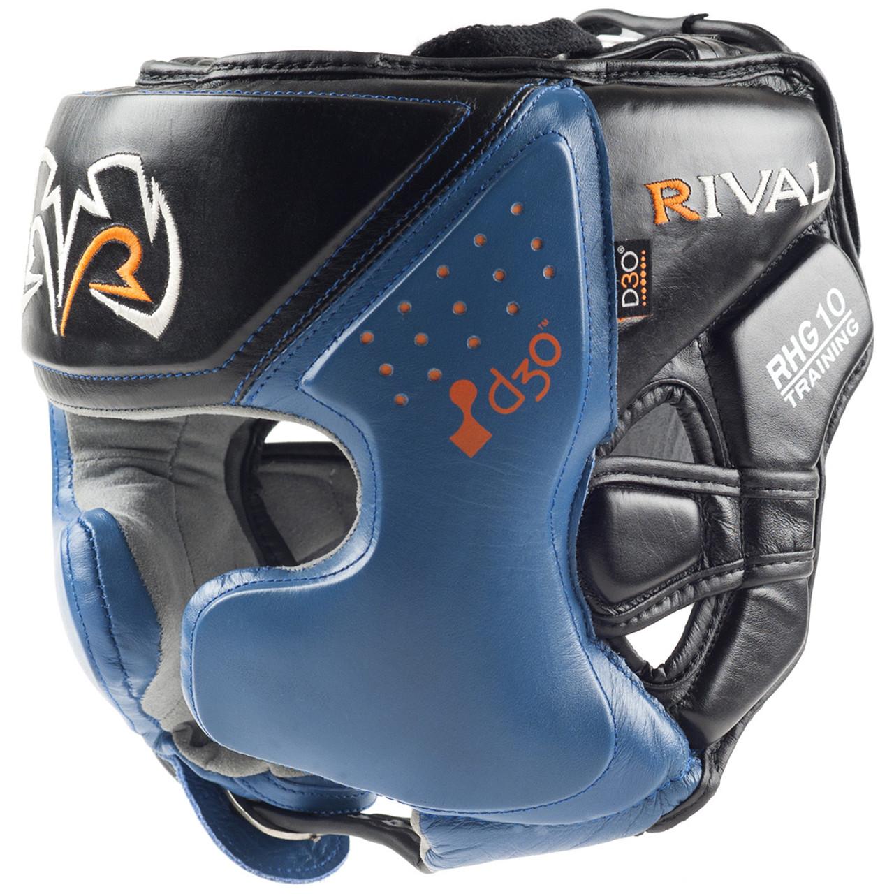 RIVAL Boxing RHG10 Intelli-Shock d30 Training Headgear