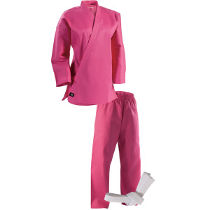 Century 6 oz. Lightweight Student Uniform with Elastic Pants - Pink