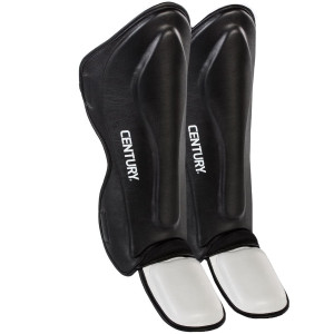 Century Creed Traditional MMA Shin Instep Guards - Black/White
