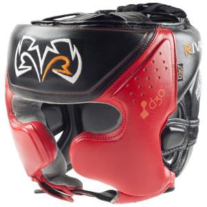 Rival Boxing RHG10 Intelli-Shock d30 Headgear - Black/Red