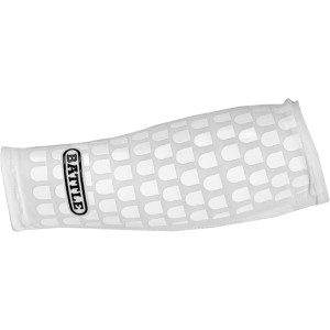 Battle Sports Science Ultra-Stick Football Forearm Sleeve - White