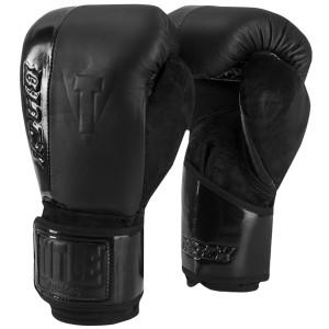 Title Boxing Black Blast Hook and Loop Training Gloves