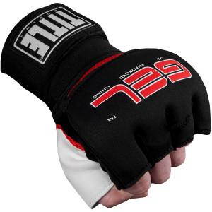 Title Boxing Gel Assault Training Glove Wraps - Black