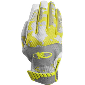 Lizard Skins Youth Komodo Elite Batting Gloves - Neon/Phantom Camo