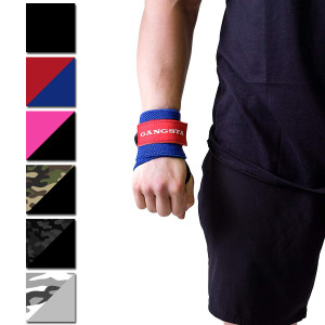 Sling Shot Gangsta Wrist Wraps by Mark Bell, IPF approved weight lifting support