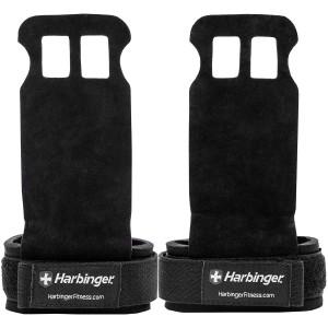 Harbinger Protective Strength Training Lift Assist Palm Grips - Black