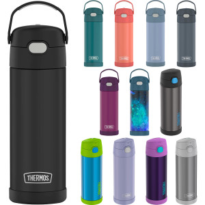 Thermos 16 oz. Kid's Funtainer Vacuum Insulated Stainless Steel Water Bottle