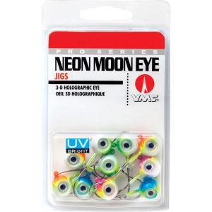 VMC Neon UV Bright Moon Eye Jig Kit