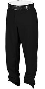 Rawlings Youth Relaxed Fit Medium Weight Baseball Pants - Black