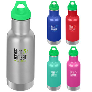 Klean Kanteen Kid Classic 12 oz. Insulated Bottle with Loop Cap