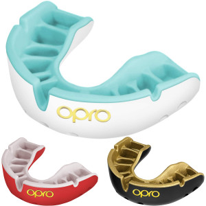 OPRO Junior Gold Level Self-Fit Antimicrobial Mouthguard