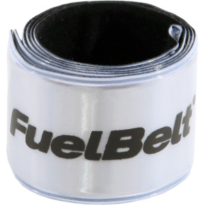 FuelBelt Reflective Snapbands 2 Pack - Silver