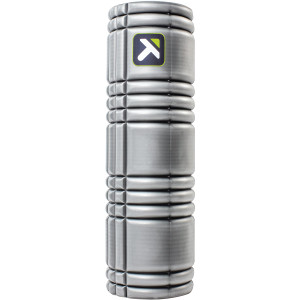 """Trigger Point Performance 18"""" Solid Core Foam Roller - Gray"""