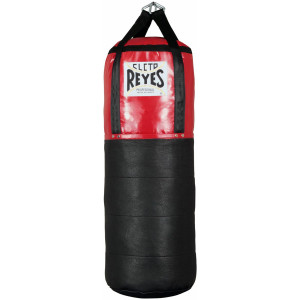 "Cleto Reyes Large (38"" x 21"") Unfilled Mixed Leather & Nylon-Canvas Punching Bag"
