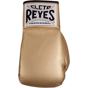 Cleto Reyes Standard Collectible Autograph Boxing Glove - Gold