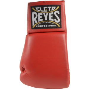 """Cleto Reyes Giant 21"""" Collectible Autograph Boxing Glove - Left Hand - Red"""