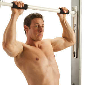 Perfect Fitness Adjustable Easy Install Door Mounting Pullup Bar