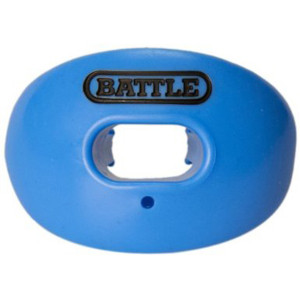 Battle Sports Science Oxygen Lip Protector Mouthguard - Columbia Blue
