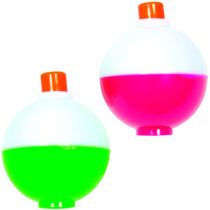 Eagle Claw Snap-On Bobbers Assorted Pack - Pink/Green