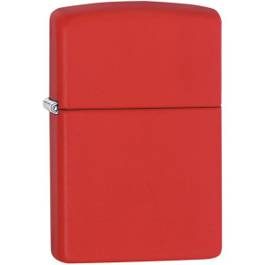 Zippo Regular Matte Pocket Lighter - Red