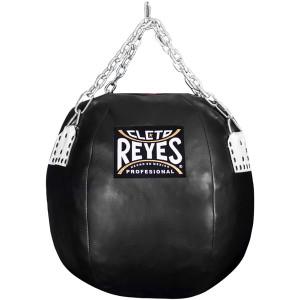"""Cleto Reyes 22"""" Diameter Body Snatcher Vinyl Leather Round Bag - Black"""