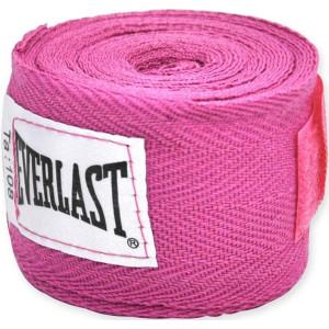 """Everlast 120"""" Boxing Handwraps-Pink"""