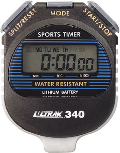 Ultrak 340 Large Display Cumulative Sports Stopwatch