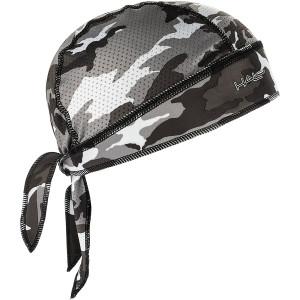Halo Headband Protex Sweatband Bandana - Camo Gray