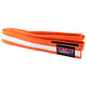 Tatami Fightwear Kids BJJ Rank Orange/White Belt