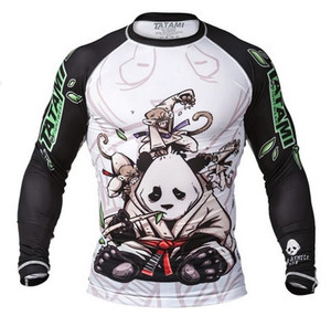 Tatami Fightwear Gentle Panda Long Sleeve Rashguard