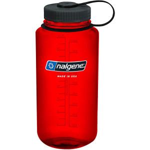 Nalgene Tritan Wide Mouth Water Bottle - 32 oz. - Red/Black