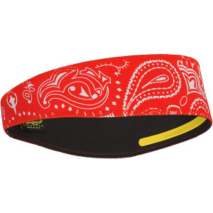 Halo Headband Pullover II Sweatband - Paisley Red