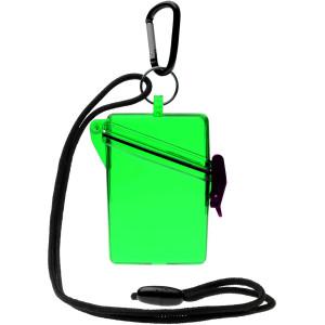 Witz Keep It Clear Lightweight Waterproof Sport Case - Green