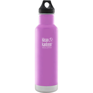 Klean Kanteen Classic Insulated 20 oz. Bottle with Loop Cap - Meadow Flower