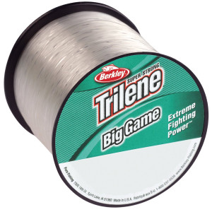 Berkley Trilene Big Game Fishing Line Spool - 25 lb test, 595 yds - Clear