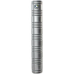 """Trigger Point Performance 36"""" Solid Core Foam Roller - Gray"""