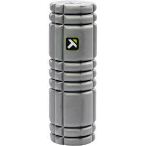 """Trigger Point Performance 12"""" Solid Core Foam Roller - Gray"""