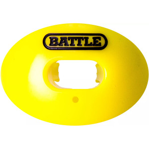 Battle Sports Science Oxygen Lip Protector Mouthguard - Neon Yellow