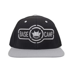 Dethrone Basecamp Snapback Hat - Black/Gray