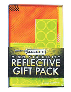 Jogalite High Visibility Reflective Runner's Gift Pack
