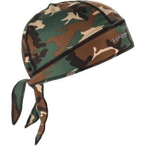 Halo Headband Protex Sweatband Bandana - Camo Green