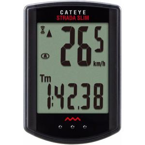 CatEye Strada Slim Wireless Cycling Computer - CC-RD310W Black