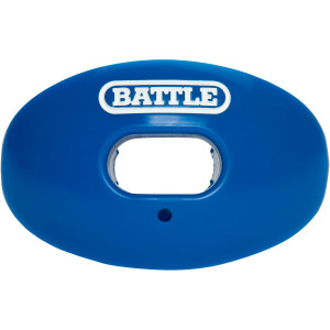 Battle Sports Science Oxygen Lip Protector Mouthguard - Blue