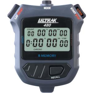 Ultrak 480 - 8 Lap Dual Split Memory Stopwatch Timer