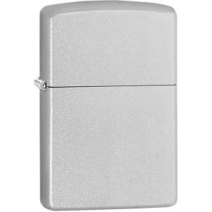 Zippo Satin Chrome Pocket Lighter